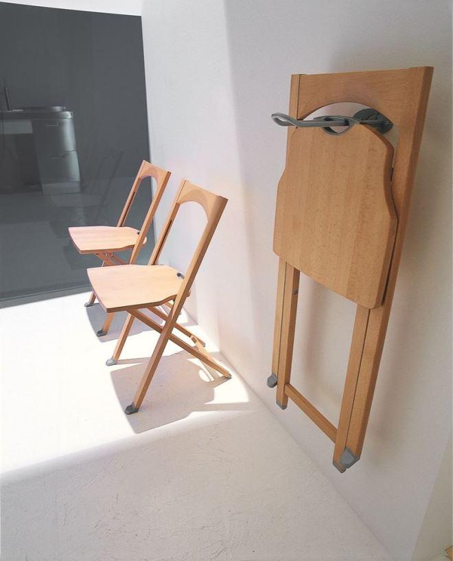 Складные стулья из МДФ и ЛДСП