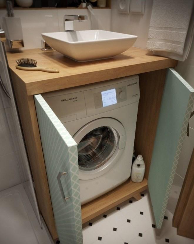 Со стиральной машиной