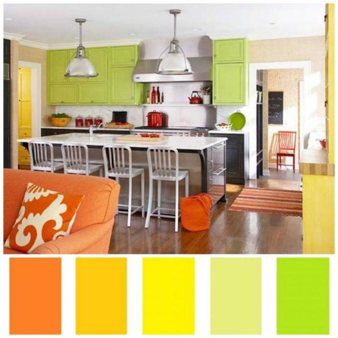 >Сочетание желто-зеленого и оранжево-зелёного в интерьере» width=»660″ height=»660″ class=»alignnone size-full wp-image-17434″></a></p> <h3 id=