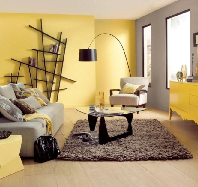 С желтым