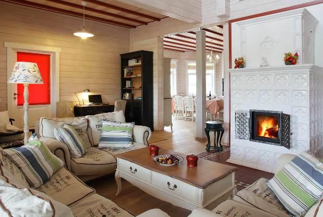Интерьер дома в стиле прованс по комнатам