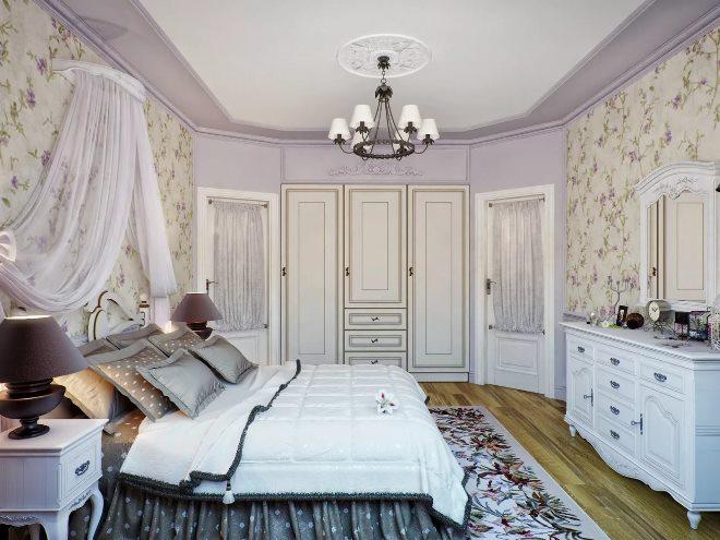 Тонкости прованской спальни