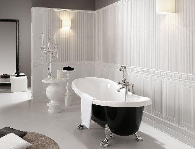 Ванная в жанре «антимодерн»