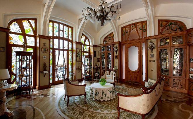 Стили мебели - ар-нуво