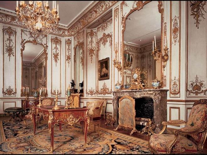 Стили мебели - барокко рококо