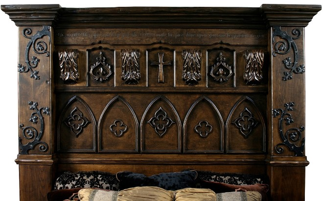 Стили мебели - готический