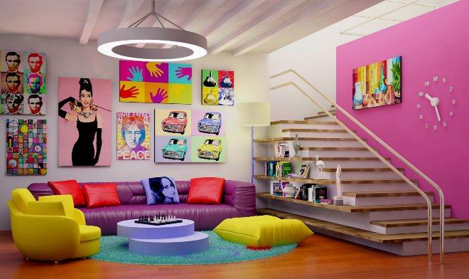 Стили мебели - поп арт