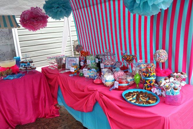 Декор праздничного стола для подростка