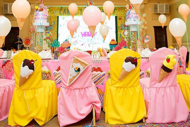 Тематическое оформление детского праздничного стола
