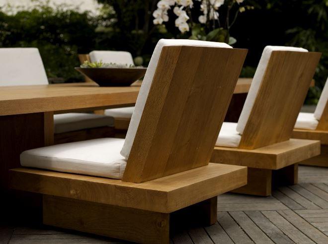 Дизайн стульев из массива
