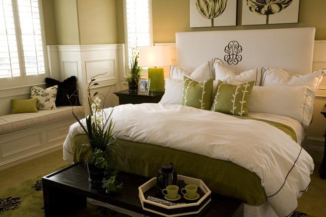 Цветы в спальне по фен-шуй