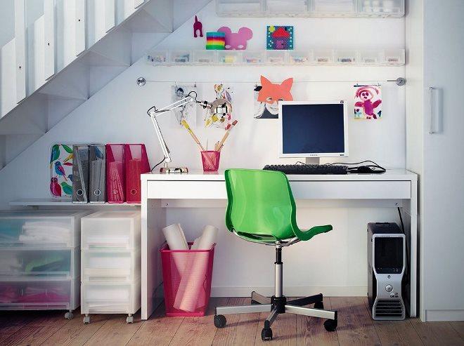 Как украсить рабочее место для школьника