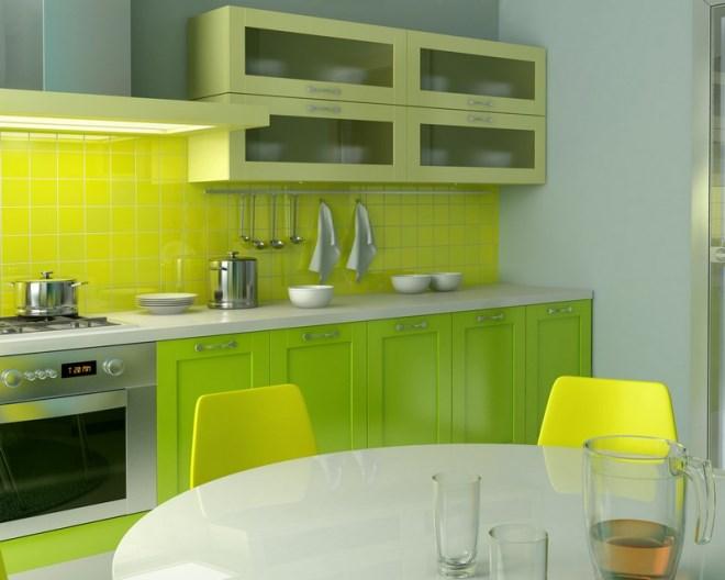 Жёлтая кухня