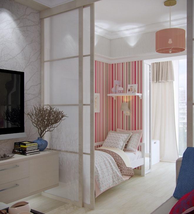 Что важно знать на этапе зонирования спальни с балконом?
