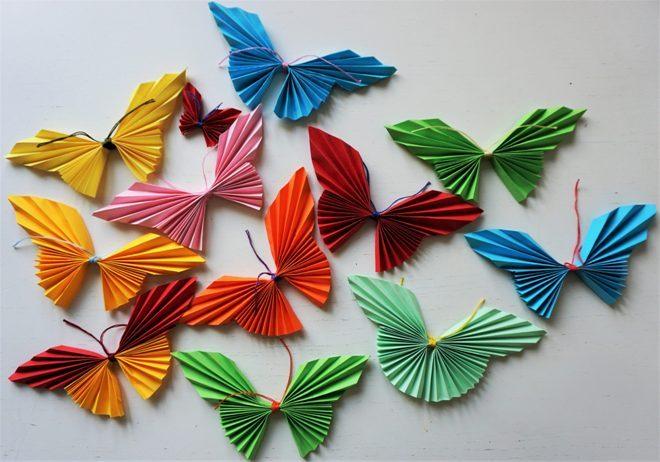Бабочки: как создать трехмерное насекомое