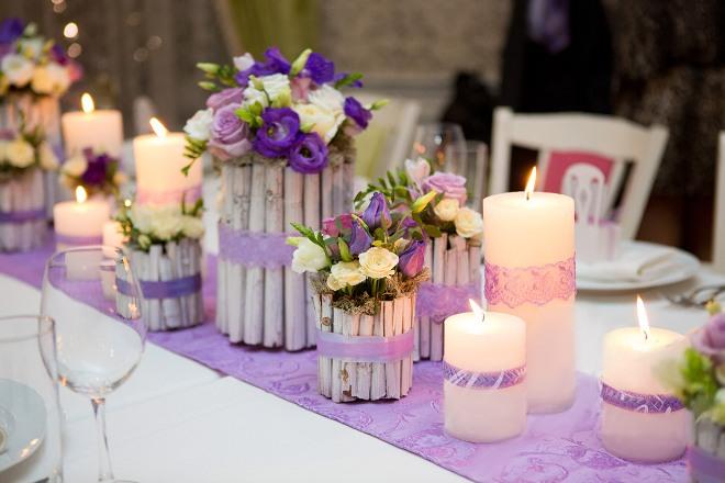 Цветные свечи
