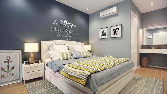 Цветовая гамма для маленькой спальни