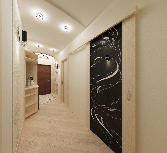 Цветовая палитра и стилистика коридора