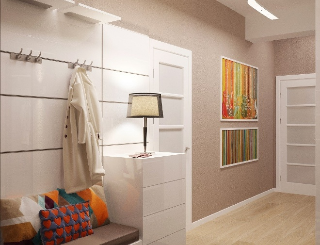 Цветовая палитра и стилистика современных прихожих