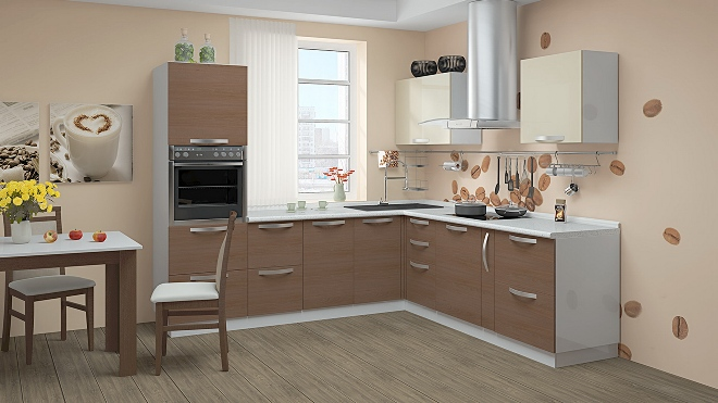 Цветовые решения для кухни в 20 кв м
