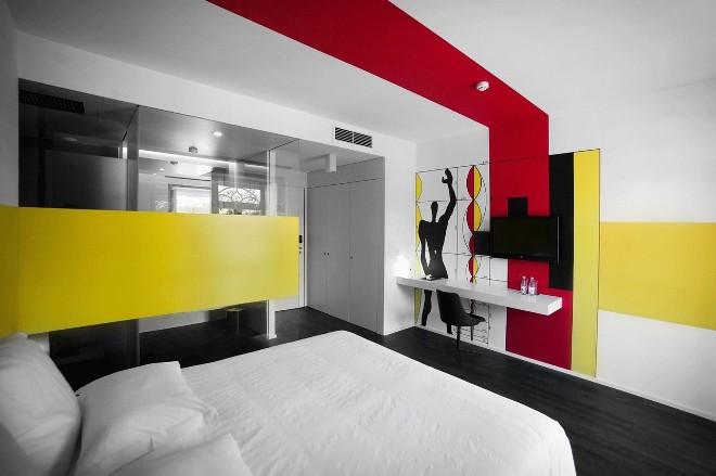Цветовые решения интерьеров в стиле конструктивизма
