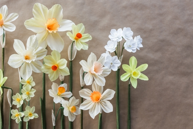 Цветы из бумаги: несколько идей
