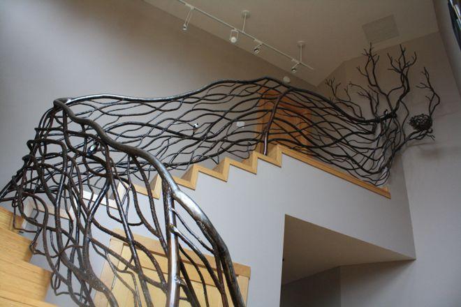 Декор лестничных перил