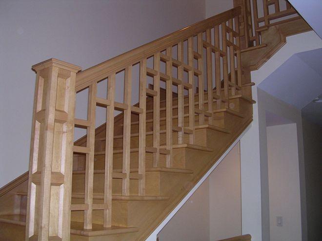 Деревянные лестничные ограждения
