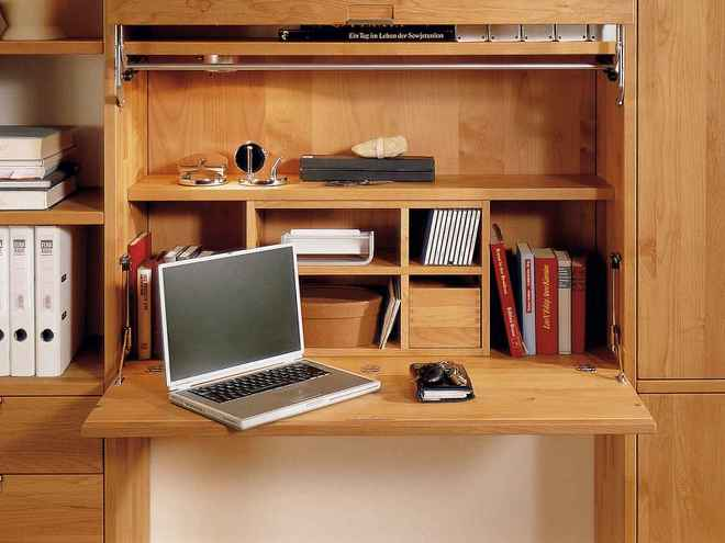 Функциональный дизайн откидных столиков