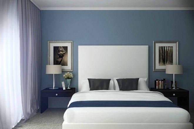 Грамотная расстановка мебели в спальне 12 кв. м