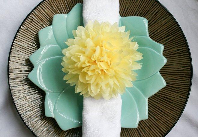 Идеи декора из салфеток