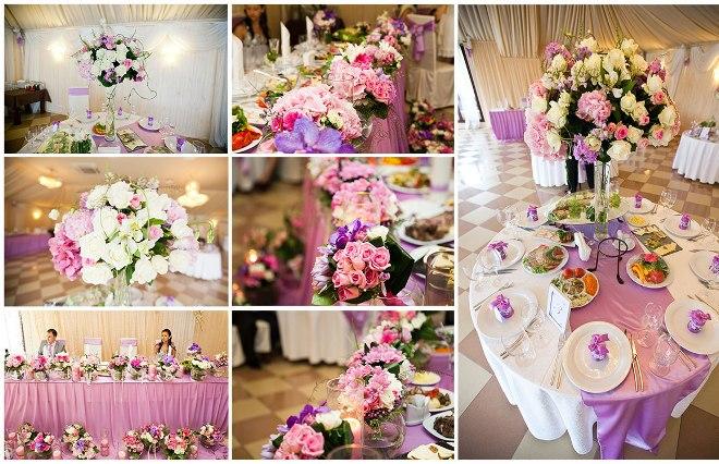 Идеи для декора свадебного стола