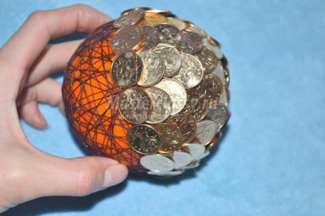 Идеи поделок из монет с пошаговой инструкцией