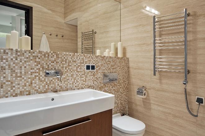 Как должна выглядеть ванная комната в стиле конструктивизма