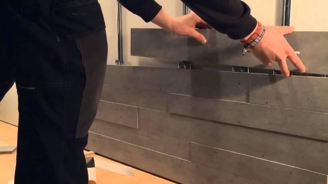 Как монтировать панели в прихожей своими руками