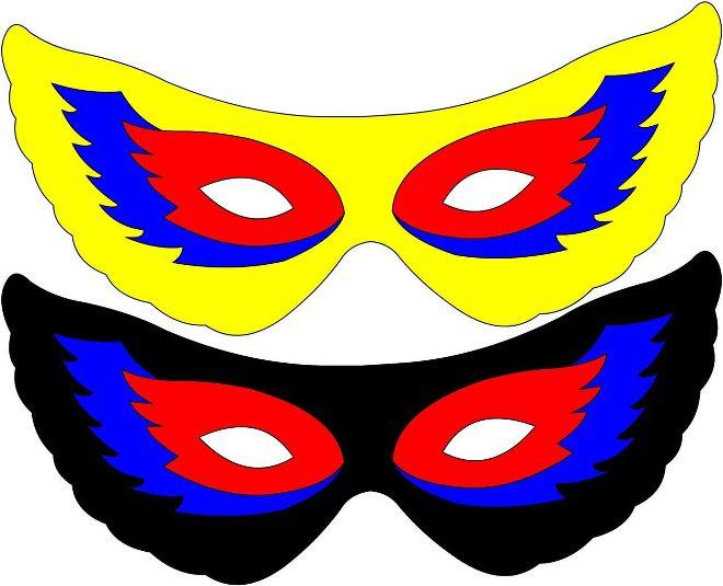 Карнавальные маски для детей