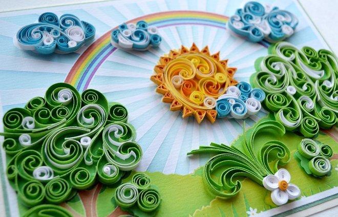 Квиллинг: крутим спиральки
