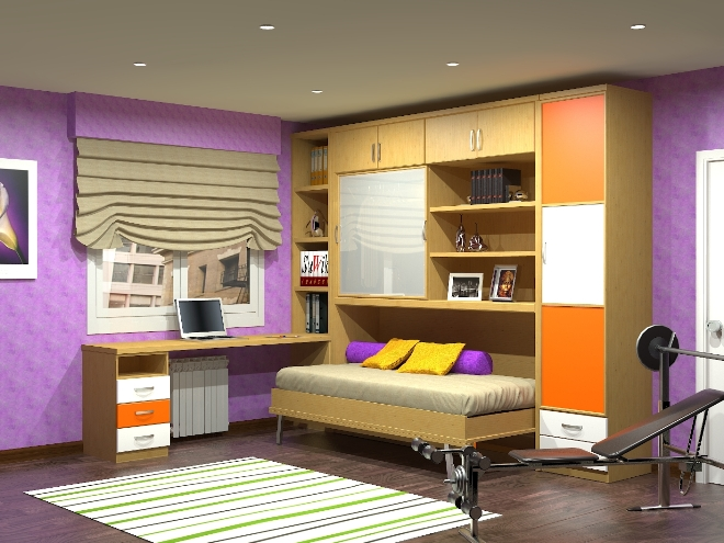 Мебель-трансформер в комнату ребенка