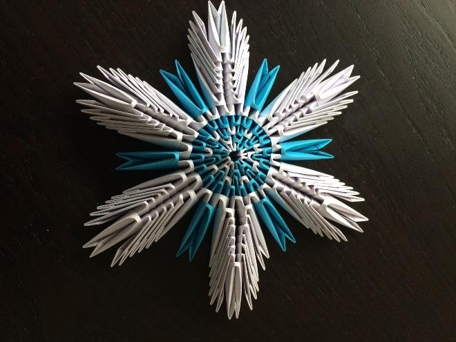 Модульная снежинка
