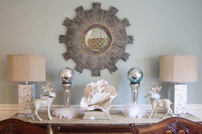 Морские ракушки в декоре интерьера