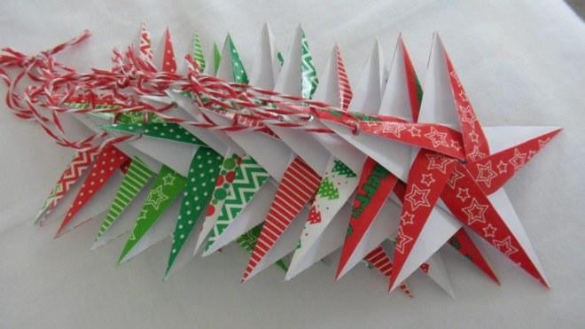 Новогодние поделки в технике оригами