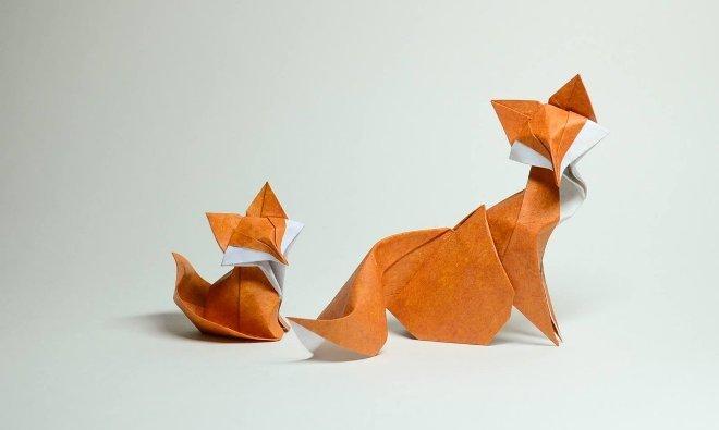 Оригами: как сложить фигурку