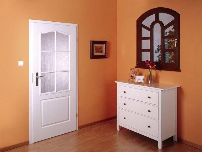 Основная цветовая палитра межкомнатных дверей