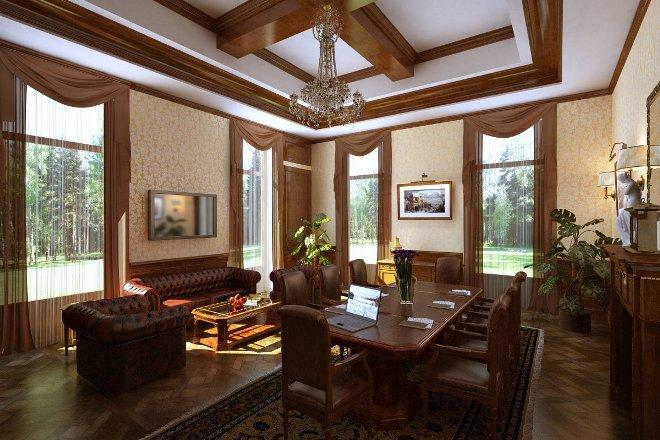 Особенности классического интерьера дома