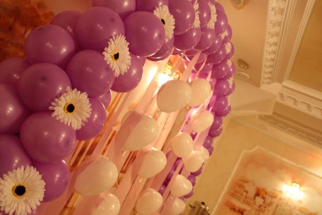 Особенности оформления воздушными шарами
