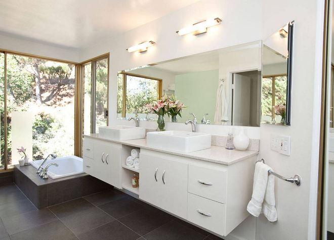 Особенности освещения ванной комнаты