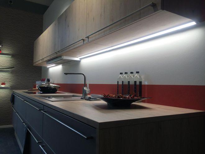 Подсветка столешницы на кухне