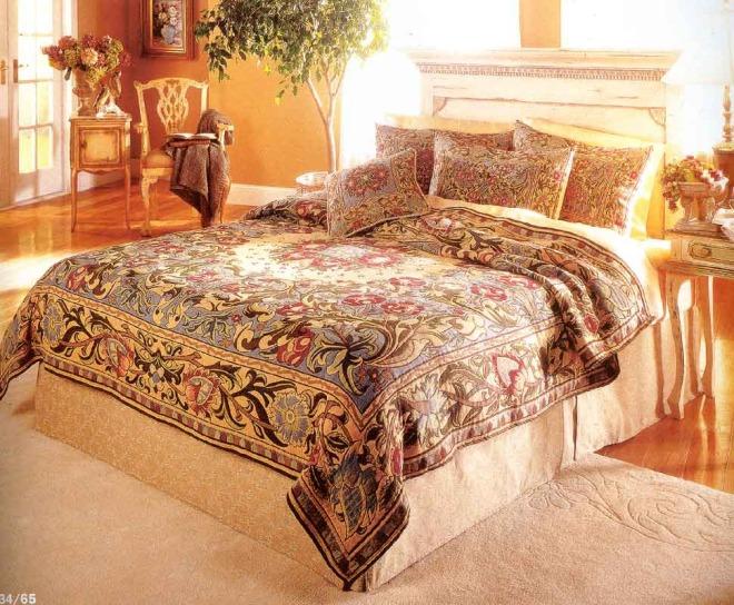 Покрывало на кровать в спальню в современном стиле