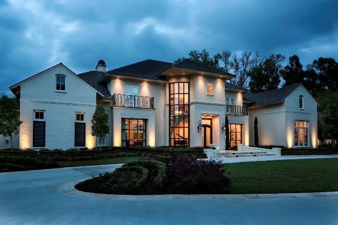 Проекты домов в классическом стиле: архитектура