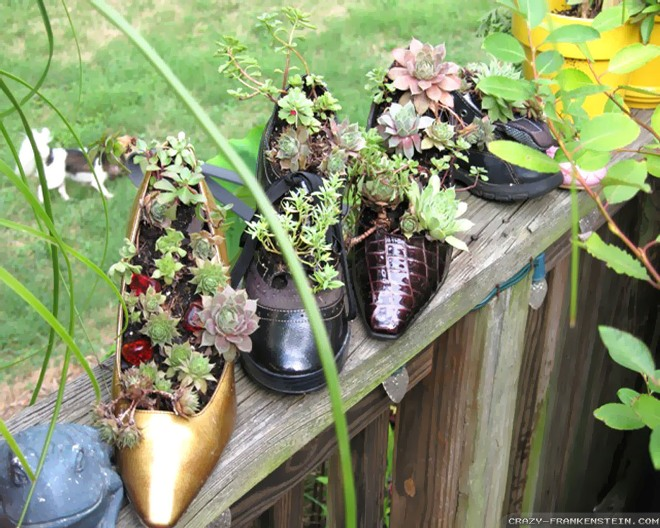 Старая обувьм